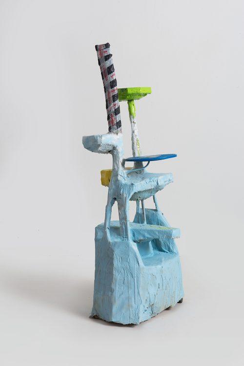 Shelf Sculpture Based on a Cat Tree